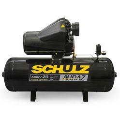 Compressor Schulz Audaz MCSV 20 Pés 200 Litros 5 HP