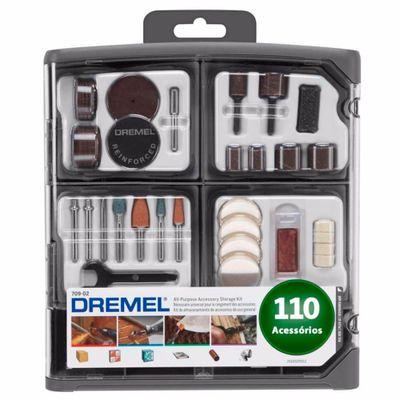 Kit Dremel Multiuso 709 RW2 com 110 peças
