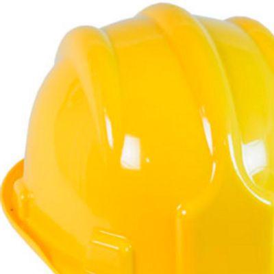 Capacete de Segurança Plastcor PLT com aba frontal e Carneira - Diafer 21d5970263