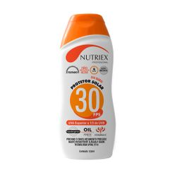 Protetor-Solar-Nutriex-UV-FPS-30-Bisnaga-120g