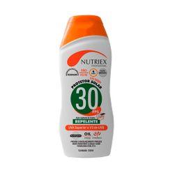 Protetor-Solar-Nutriex-UV-FPS-30-com-Repelente-Bisnaga-120g-