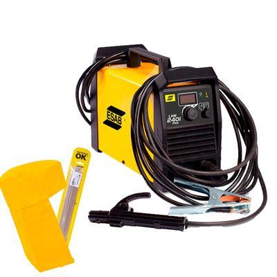 Maquina-de-Solda-Inversora-Esab-LHN-240i---Capuz-e-Eletrodo