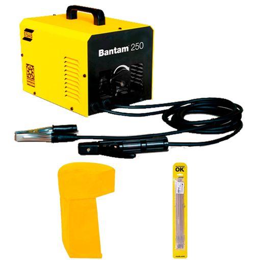 Maquina-de-Solda-Esab-Bantam-250-Gratis-Capuz-e-Eletrodo