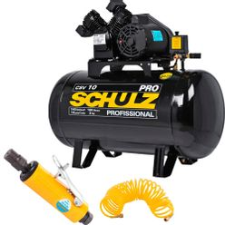 Compressor-Schulz-CSV-10-100-PRO---Retifica-e-mangueira
