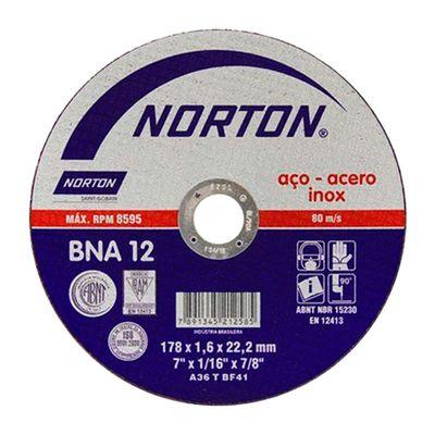 Disco-de-Corte-Norton-BNA-12-para-Inox-7-Polegadas