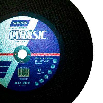 Disco-de-Corte-Norton-AR-302-Classic-para-Metal-12-Polegadas