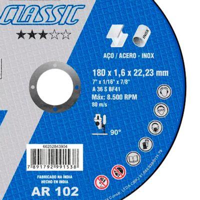 Disco-de-Corte-Norton-AR-102-Classic-para-aco-7-Polegadas
