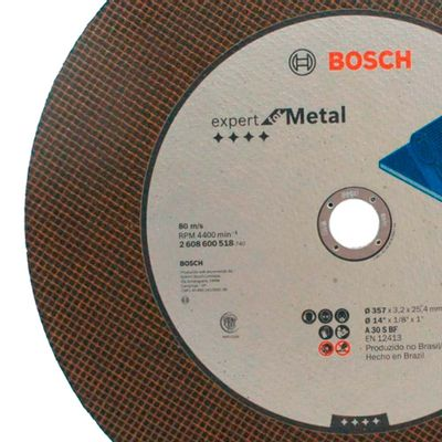 Disco-de-Corte-Bosch-Expert-for-Metal-14-Polegadas