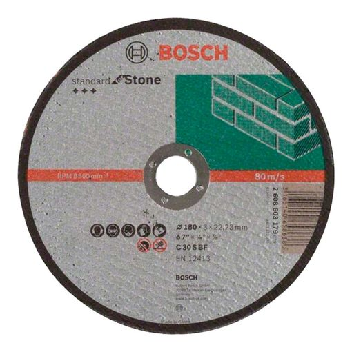Disco-de-Corte-Bosch-Standard-for-Stone-7-Polegadas