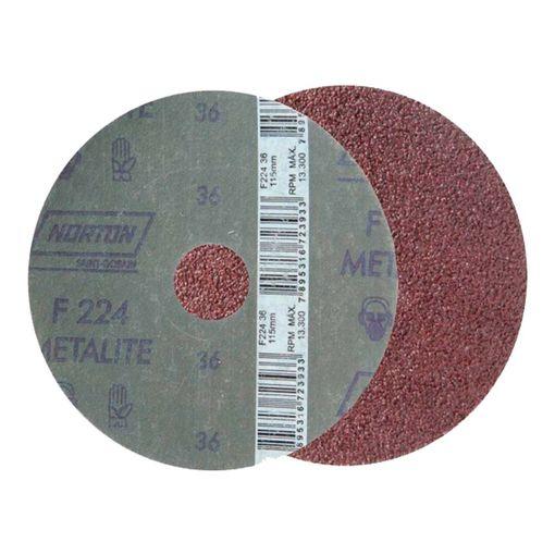Disco-de-Lixa-Norton-F224-Grao-36-4.1-2-Polegadas