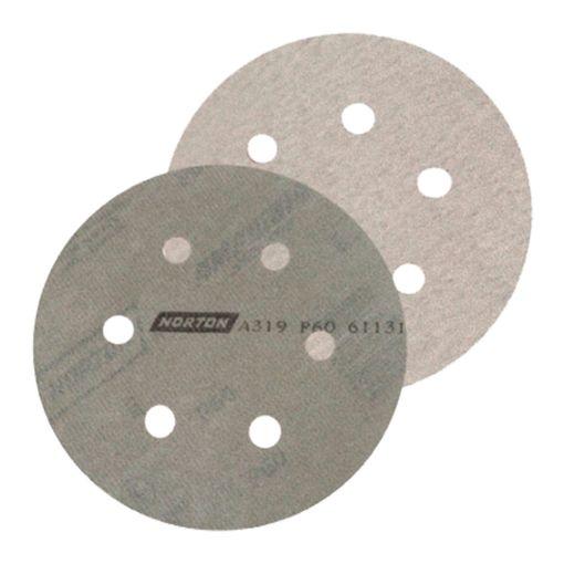 Disco-de-Lixa-Norton-com-Velcro-A319-Grao-40-5-Polegadas