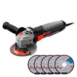Esmerilhadeira-Skil-Angular-9004-830W-4.12-Pol-com-5-Discos
