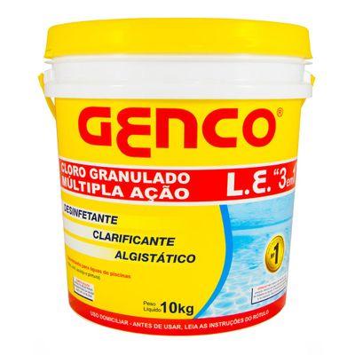 Cloro-para-Piscina-Genco-Granulado-3-em-1-Balde-com-10-kg