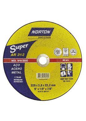 Disco-de-Corte-Super-Norton-AR312-9-Polegadas