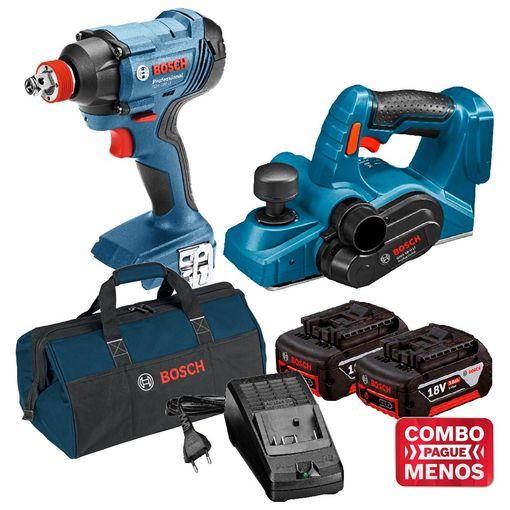 Kit-Bosch-Chave-de-Impacto-GDX-180-LI---Plaina-GHO-18V-LI