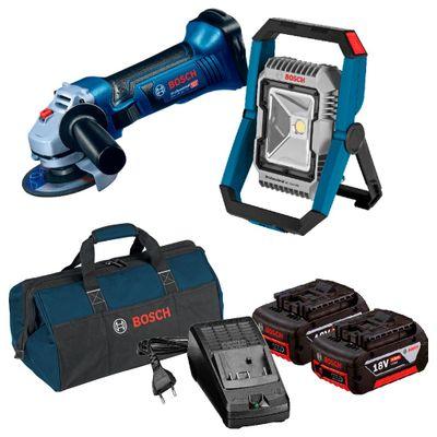 Kit-Bosch-Esmerilhadeira-Angular-GWS-18-125V-LI---Lanterna-GLI-18V-1900