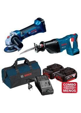 Kit-Bosch-Esmerilhadeira-Angular-GWS-18-125V-LI---Serra-Sabre-GSA-18V-LI