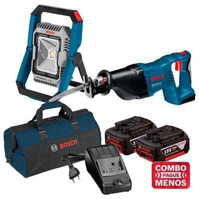 Kit-Bosch-Lanterna-GLI-18V-1900---Serra-Sabre-GSA-18V-LI