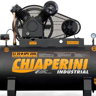 Compressor-de-Ar-Chiaperini-CJ-20--APV-200L-20-pes-200-Litros