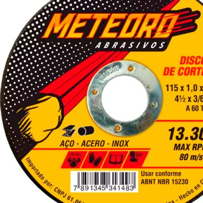 Disco-de-Corte-Meteoro-Extra-Fino-4.1-2-Polegadas