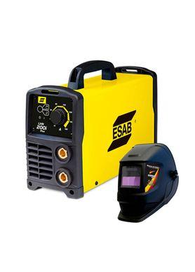 Kit-Maquina-de-Solda-Inversora-Esab-LHN-200i-Plus---Mascara-de-Solda-German-Tools-GT-MSR