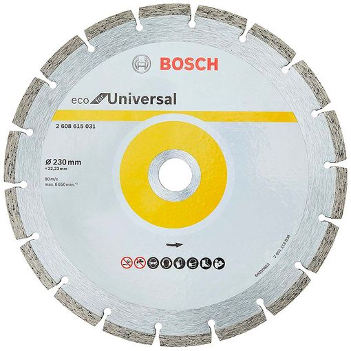Disco-Bosch-Diamantado-Turbo-Universal-230mm-para-Esmerilhadeira