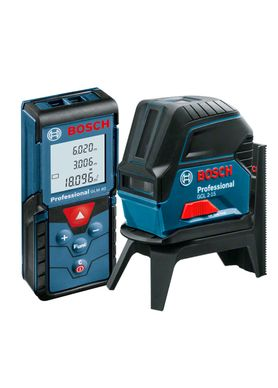 Kit-Nivel-a-Laser-Bosch-GCL-2-15-e-Trena-Laser-GLM-40