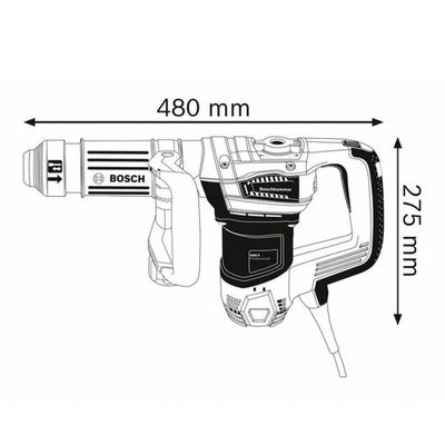 Martelo-Bosch-Demolidor-GSH-5-Basic-1100W-com-SDS-Max