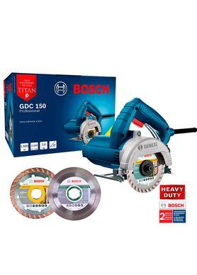 Kit-Serra-Marmore-Bosch-GDC-150-Titan-1500W-com-3-Discos