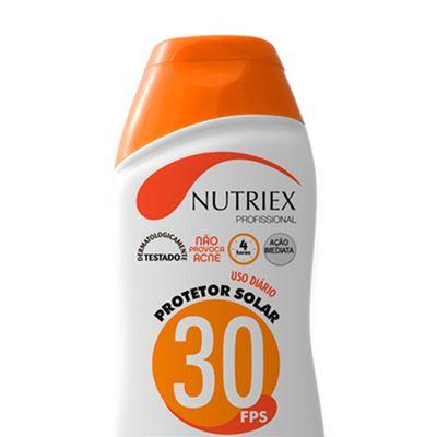 Kit-Protetor-Solar-Nutriex-UV-FPS-30-Bisnaga-120g-com-12-Unidades