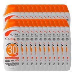 Kit-Protetor-Solar-Nutriex-UV-FPS-30-Bisnaga-120g-com-24-Unidades