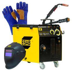 Maquina-de-Solda-Mig-Esab-Smashweld-266X-com-Tocha-Mascara-e-Luva-para-Soldador