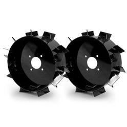 Kit Rodas de Ferro Máquina Fort para Motocultivador aro 8 Pol