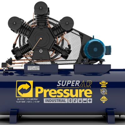 Compressor-de-Ar-Pressure-Super-Ar-60-pes-425-Litros
