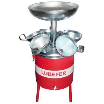 Pingadeira-de-Oleo-Lubefer-LUB-PING6-25-Litros-com-6-Funis