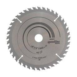 Disco-de-Serra-Circular-Bosch-160x-20mm-para-Madeira