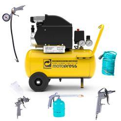 Compressor-de-Ar-Pressure-Moto-Press-8.2-pes-24-Litros-com-Jogo-de-Acessorios