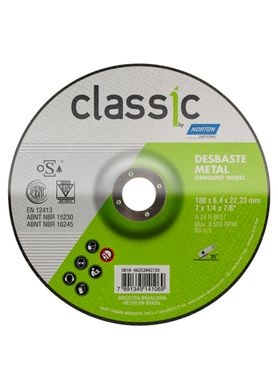 Disco-de-Desbaste-Norton-BDA600-Classic-7-Pol