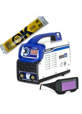 Kit-Maquina-de-Solda-Inversora-Boxer-Touch-150-com-Eletrodo-6013-Esab