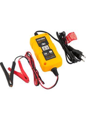 Carregador-de-Bateria-Vonder-Inteligente-CIB003-12V-para-Moto