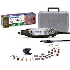 Dremel-3000-Microrretifica-com-2-Acoplamentos-105-Acessorios-e-Maleta