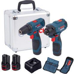 Kit-Combo-Bosch-Chave-de-Impacto-GDR-120-LI-e-Parafusadeira-GSR-120-LI---2-Baterias-com-Carregador-e-Kit-de-Acessorios-em-Maleta-de-Aluminio