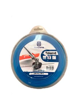 Fio-de-Nylon-Redondo-2.4mm-x-88-M-Round-Husqvarna