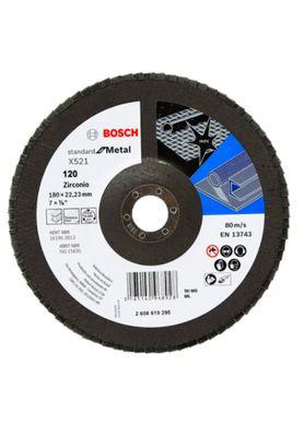 Disco-de-Lixa-Flap-Disc-Bosch-Standard-G-120-7-Pol