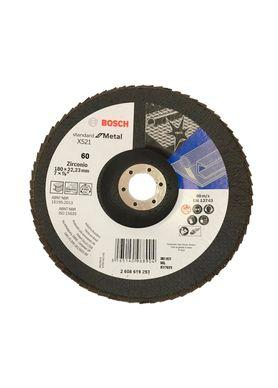 Disco-de-Lixa-Flap-Disc-Bosch-Standard-G-60-7-Pol