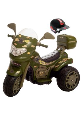 Moto-Eletrica-Biemme-Infantil-Sprint-Turbo-12V-com-Capacete