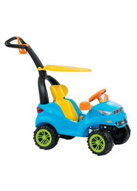 Carrinho-de-Passeio-Infantil-Push-Car-Easy-Ride-Azul-Biemme