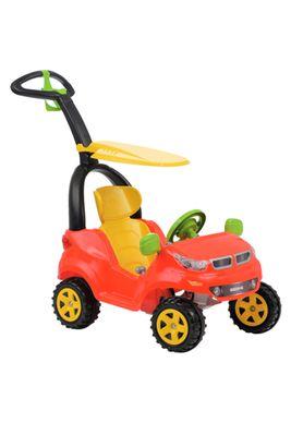 Carrinho-de-Passeio-Infantil-Push-Car-Easy-Ride-Vermelho-Biemme