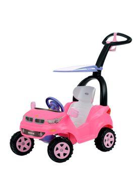 Carrinho-de-Passeio-Infantil-Push-Car-Easy-Ride-Rosa-Biemme