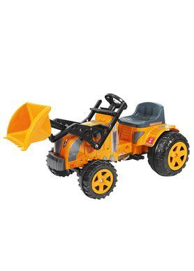 Trator-Infantil-Fazendeiro-com-Pedal-e-Pa-Amarelo-Biemme